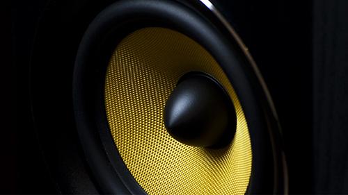 speaker wallpaper