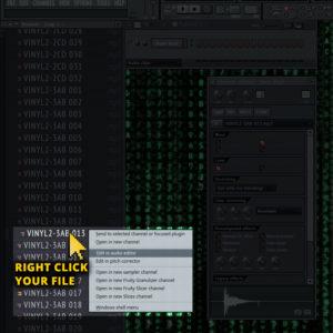 how to trim wav sample fl studio step 1