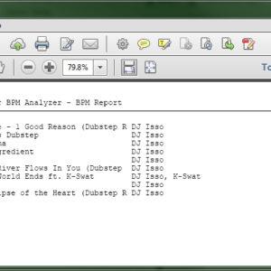 how to analyze detect bpm 6