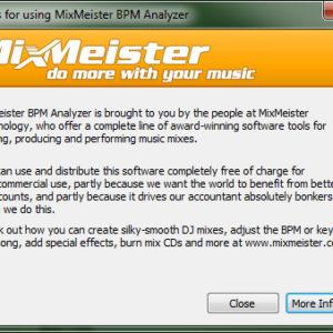 how to analyze detect bpm 7