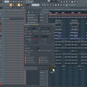mp3 wav export settings fl studio