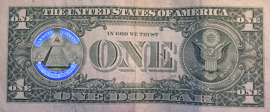 novus ordo seclorum us dollar