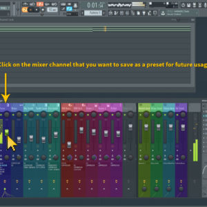 saving mixer presets 1