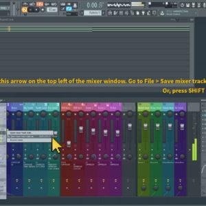saving mixer presets 2