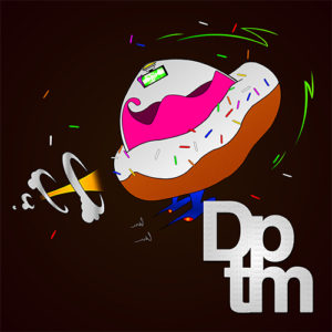 Dstructive - Donut Powered Time Machine album cover