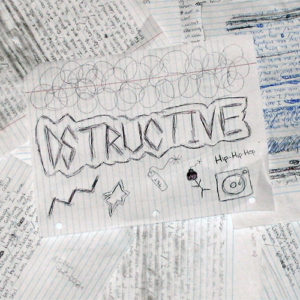 Dstructive - Writer's Block album cover