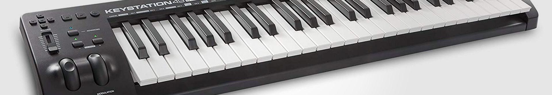 M-Audio Keystation 49ES MIDI keyboard