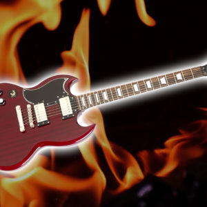 epiphone G-400 PRO electric guitar