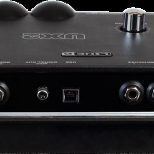 line 6 ux2 audio interface back