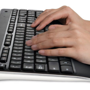 logitech k800 wireless illuminated keyboard side