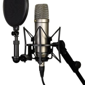 rode nt1-a microphone side view