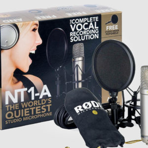 RØDE NT1-A studio condenser microphone