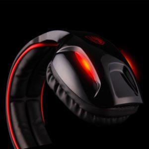 sades sa902 7.1 channel gaming headset black